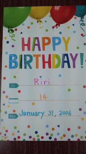 riri's card