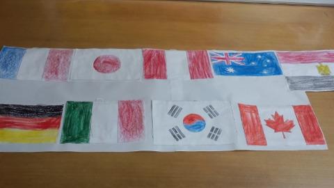 rik and shizuka 's flag