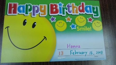 hanna in Feb card