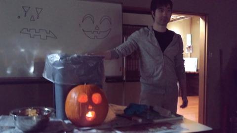 finish pumkin and Makoto in the dark room