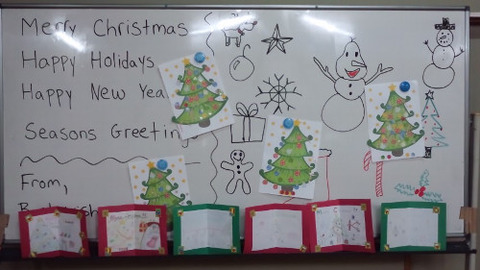 pm whiteboard cards and tree