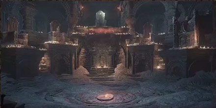 火継ぎの祭祀場ダークソウル3