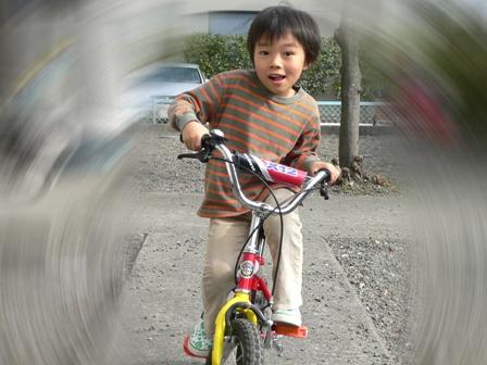ハルと自転車1