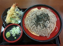 20160811極楽湯天ぷらそば