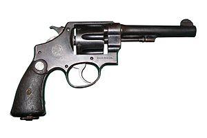 S&W M1917リボルバー 45ACP