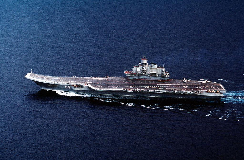 ロシア、老朽化した空母からの攻撃をついに諦める
