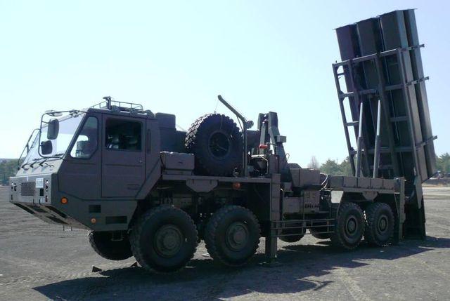 陸上自衛隊の地対艦ミサイル