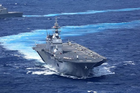 護衛艦いずもにF-35Bは搭載されない