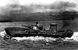 日本海軍 特二式内火艇 カミ車