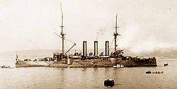 1937_Japan_navy_flagship_in_Shanghai