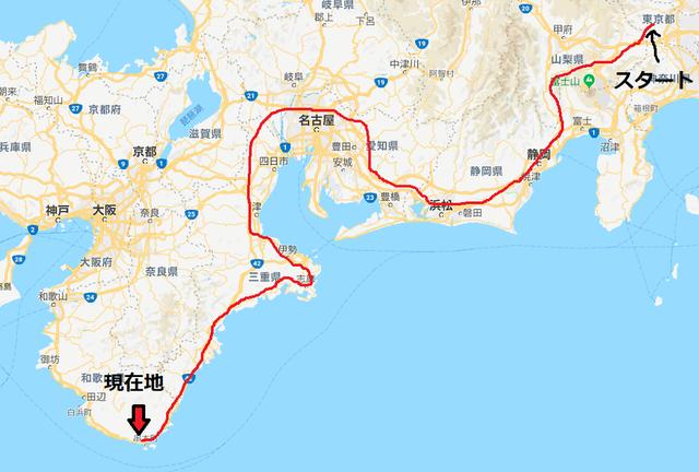 GO WEST。。。にんにき西へ和歌山県への旅� レッカー移動の巻