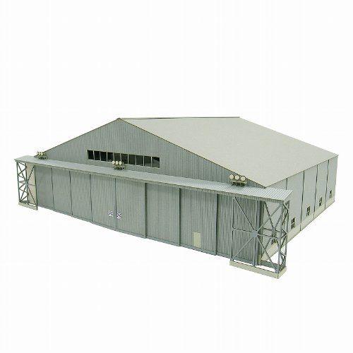 1/144 航空情景シリーズ 機体整備格納庫 MK08-07 (ペーパークラフト)