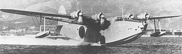 超大型飛行艇 蒼空 〜観音扉を持つ先進的木製輸送機〜