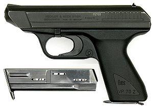 H&K VP70 9mm