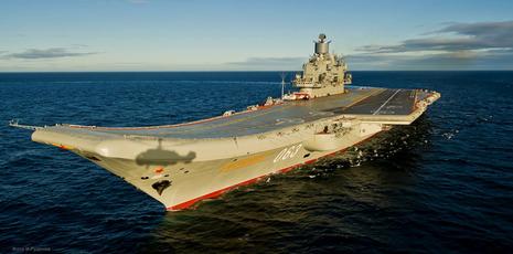 【軍事ニュース 2017.01.07】 ロシア軍、シリア駐留部隊の縮小開始 まず空母撤収