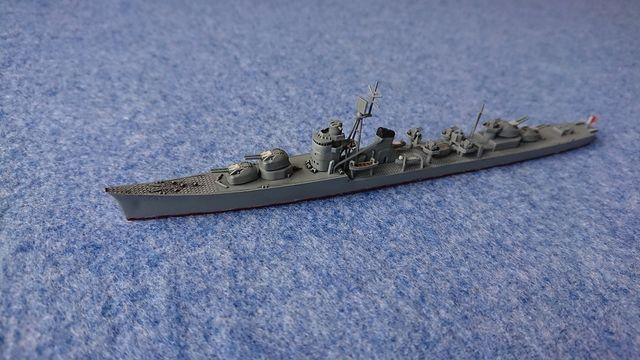 アオシマ 1/700 駆逐艦 冬月