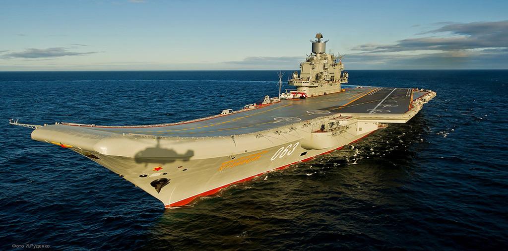 アドミラル・クズネツォフ級空母