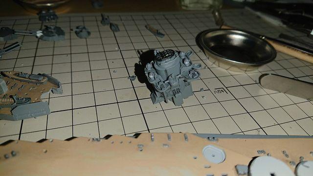 1/700 フジミ模型 航空戦艦伊勢作ってみた。その�