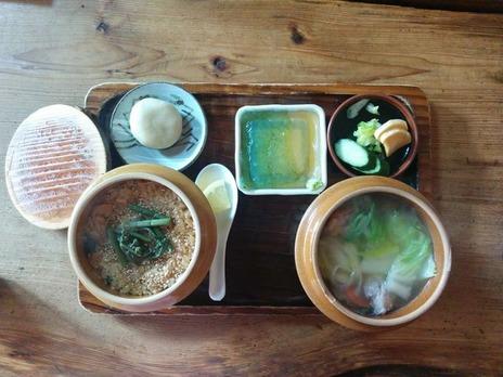 20161223なかい山菜おこわ飯