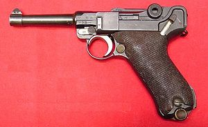 ルガーP08 9mm