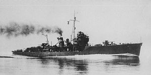 Japanese_escort_ship_Shimushu_1940