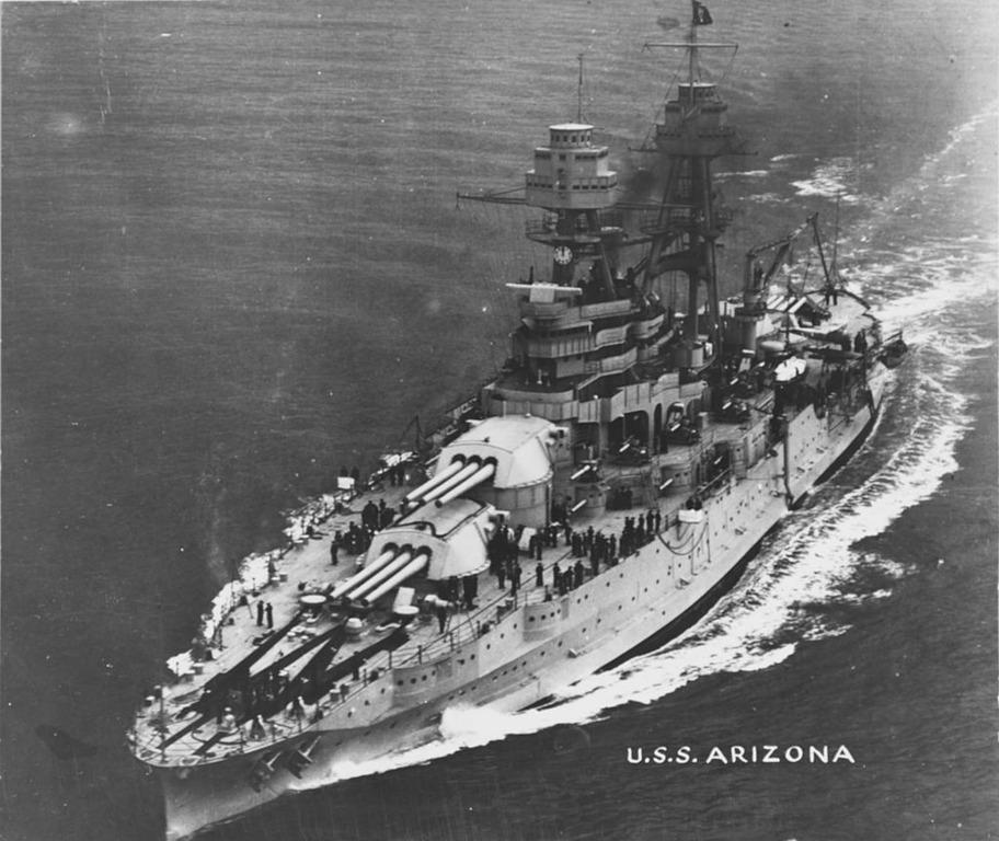 2018年6月19日のあさ。戦艦アリゾナ、マリアナ沖海戦、銀河英雄伝説。