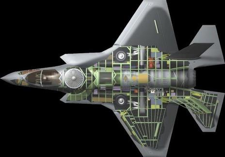 【軍事ニュース2016.1.16】 最新鋭の米戦闘機F35、岩国基地に配備