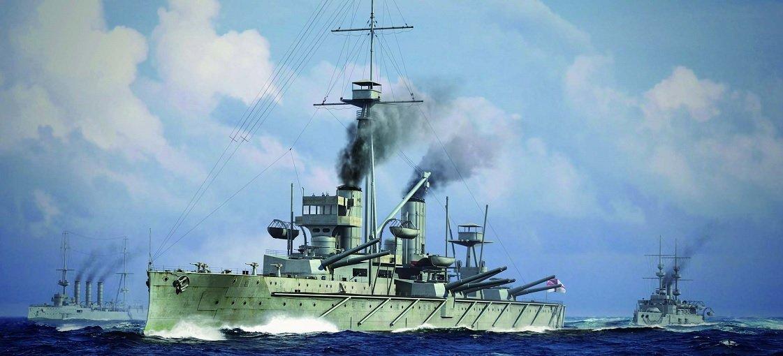 1/700 イギリス海軍戦艦 HMS ドレッドノート 1915