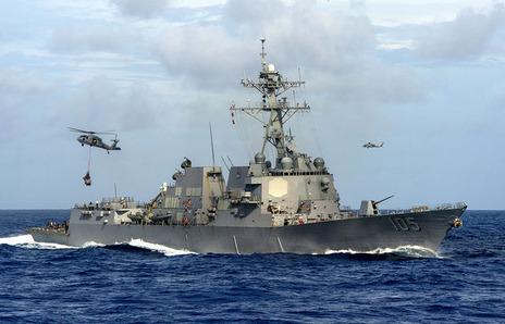 米軍、南シナ海で「航行の自由作戦」【軍事ニュース 2017.05.25】