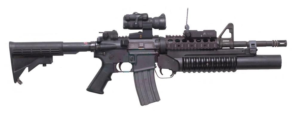 M4カービンM203付き