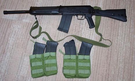 【軍事ニュース2017.01.22】 米国製の「カラシニコフ銃」、2月に発売 同ブランドで初