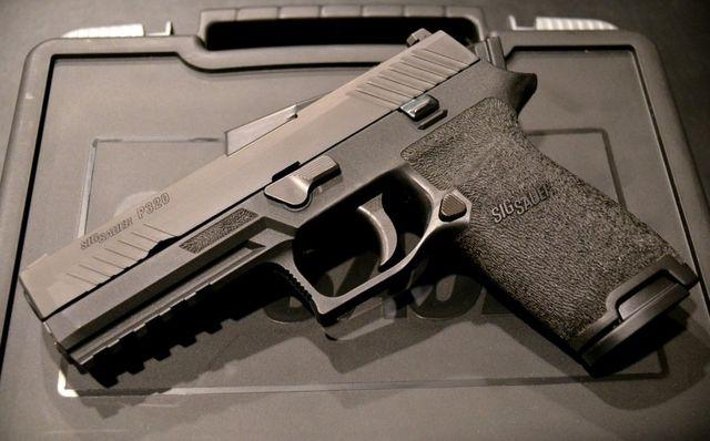 アメリカ陸軍次期正式拳銃M17(P320)�
