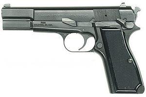 FNブローニングハイパワー 9mm