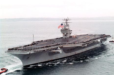 【軍事ニュース20170220】米空母、南シナ海で「定期的な」パトロール開始