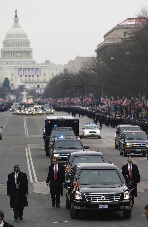 【軍事ニュース2017.01.25】  「トランプ氏守らない」 大統領警護隊隊員を調査へ