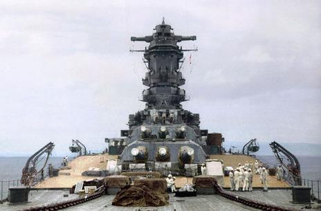 戦艦大和 九四式46センチ3連装主砲塔