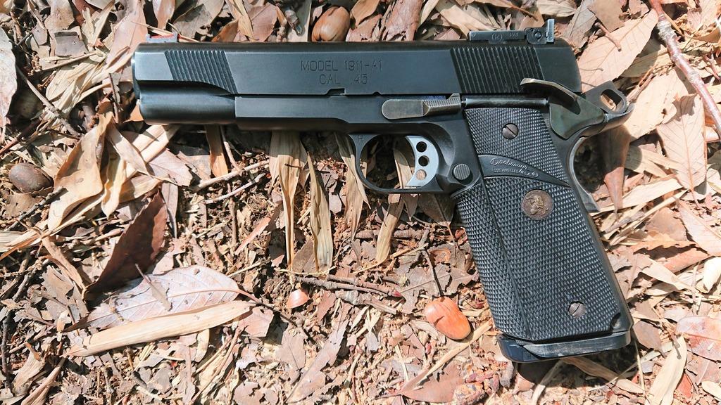 WA M1911A1ブルーイングの巻〜鋼鉄銃�〜