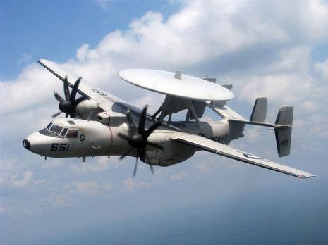 【軍事ニュース 2017.01.07】 米海軍、最新型の早期警戒機を岩国配備へ ステルス機も捕捉