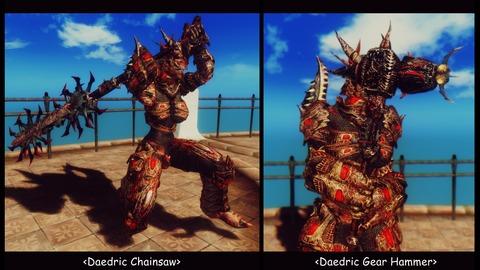 021 Daedric-weapons Gear