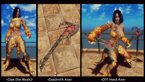 010 Daedroth weapons