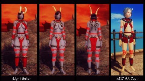 004 Xivilai-armor Light Guts