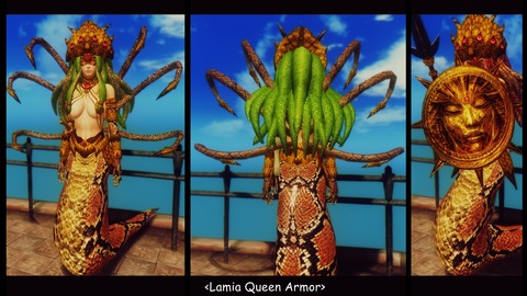 016 Lamia Queen Armor