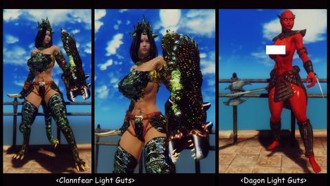 025 Dagon & Clannfear Light Guts