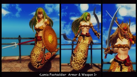 009 Lamia Footsoldier & wepon 1