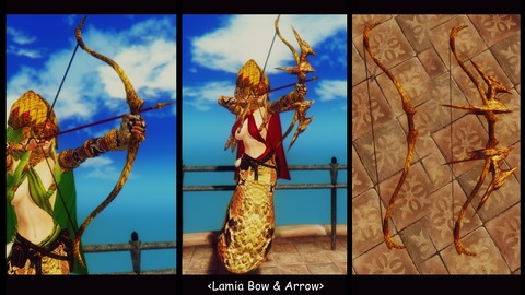 014 Lamia Bow & Arrow