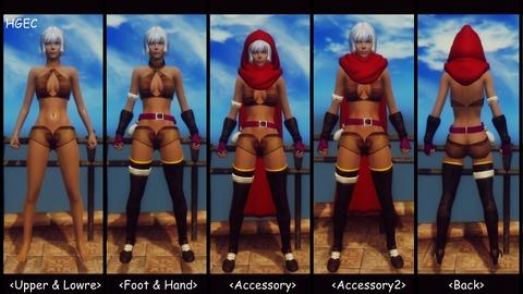 004 Cecily Armor HGEC