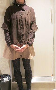 秋 コーデ 50歳