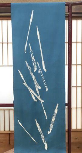 きもの春市2018 小倉充子氏浴衣新作 - 2