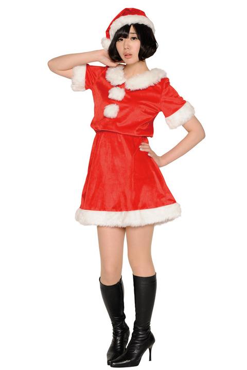 【季節を先取り】ハロウィンにクリスマスサンタコス