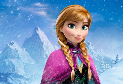 【アナと雪の女王】アナ風ドレス 子ども・キッズ用